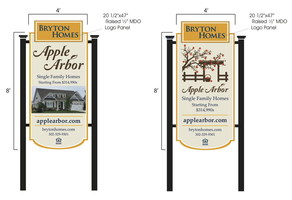 Apple arbor Logo & signage -