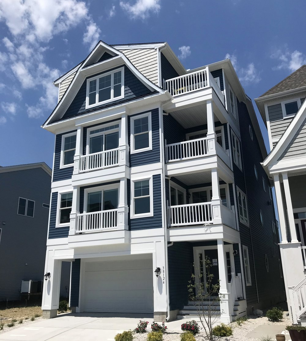SUNSET HARBOUR 4 story homes - Ocean View, Delaware