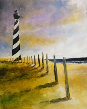 Light House on Beach