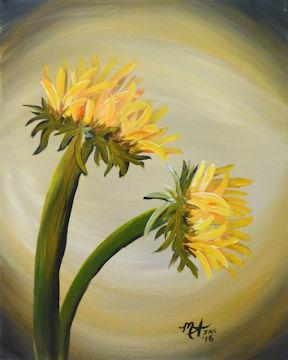 Sun Flower Pair