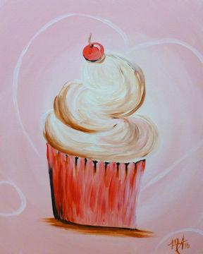 Sweetheart Cupcake