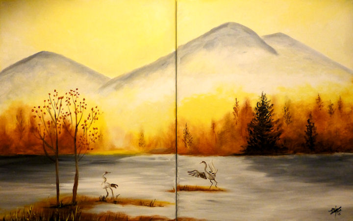 Crane Pond - Partners Painting