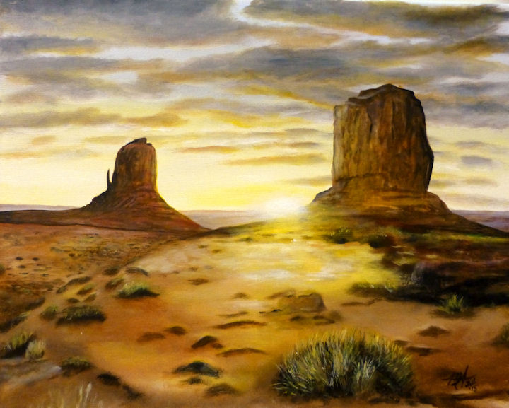 Monument Valley, Arizona - 16x20 acrylic