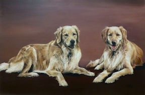 Sisterly Love Alex & Nikki - 24x36 oil