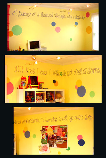 Inspiration Bubble Quote Room