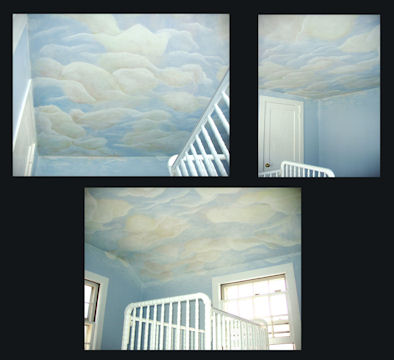 Cloud Sky Baby Room