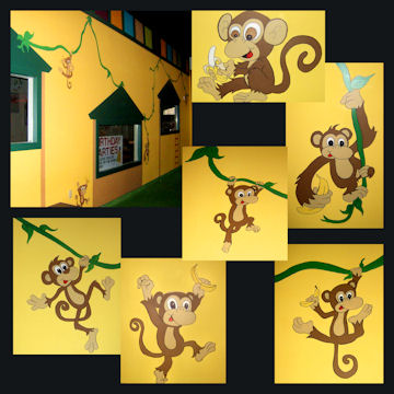 Kids Stuff - Monkey Wall