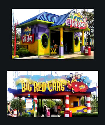 Six Flags - Big Red Cars and Wiggles Gift Shop