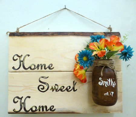 Home Sweet Home Sign 1