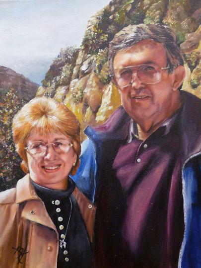My True Love - 12x16 acrylic on canvas