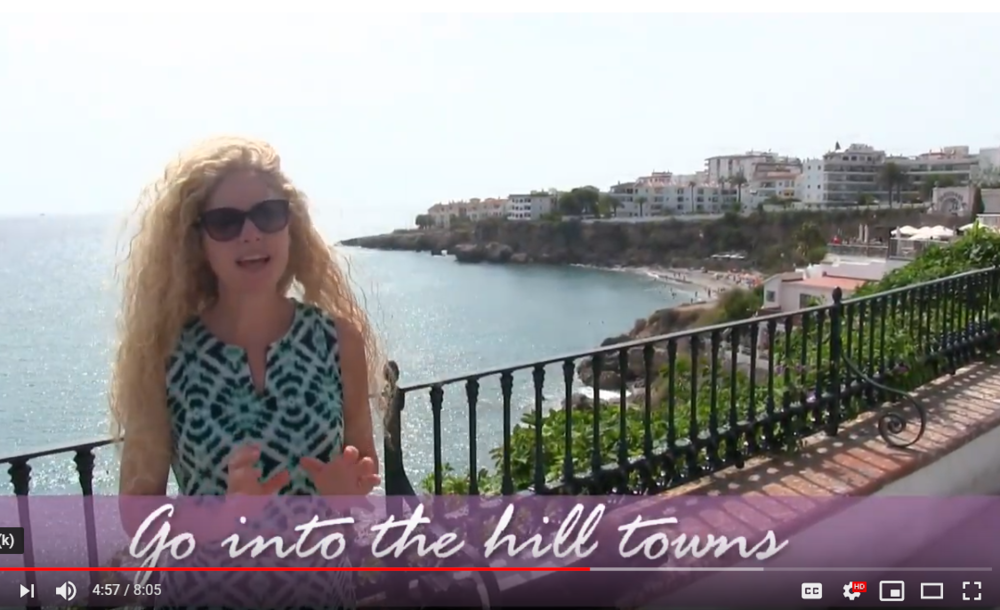 NERJA, SPAIN PAINT & SIP TIPS - Video