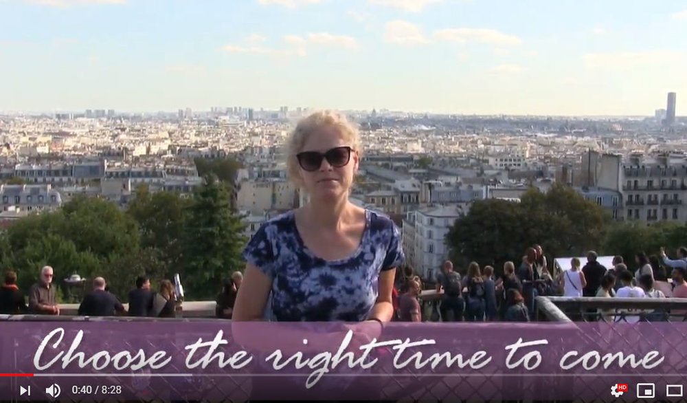 PARIS FRANCE PAINT & SIP TIPS - Video