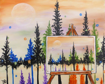 Portrait of Pines