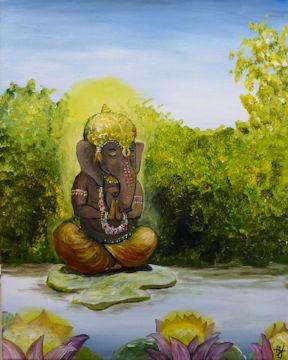 Ganesha the Elephant Prince