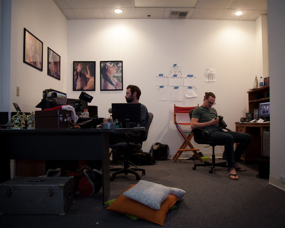 Inside the think tank creating the award winning short film, Revenge of the Pizza King