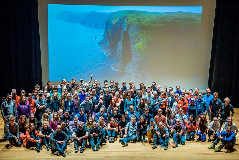 Participants of Útilív Adventure Festival at Nordic House  Photo by David Altabev