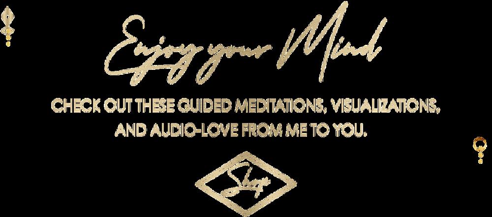 Shop Meditations