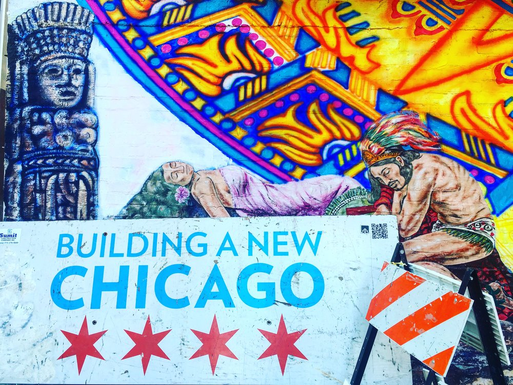 A New Chicago  Pilsen, Chicago  2015  Rebel Betty Arte