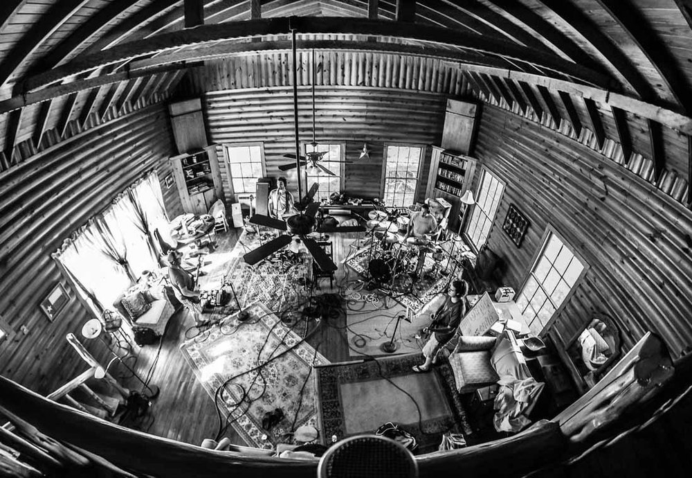 Coming Soon! - Located one hour West of San Antonio, our Bandera location is a fully functioning studio with 32 channels of analog goodness, set in our river house built in 1936. Record a few songs and then kick back in the Medina River, which is just 100 yards from our back door.
