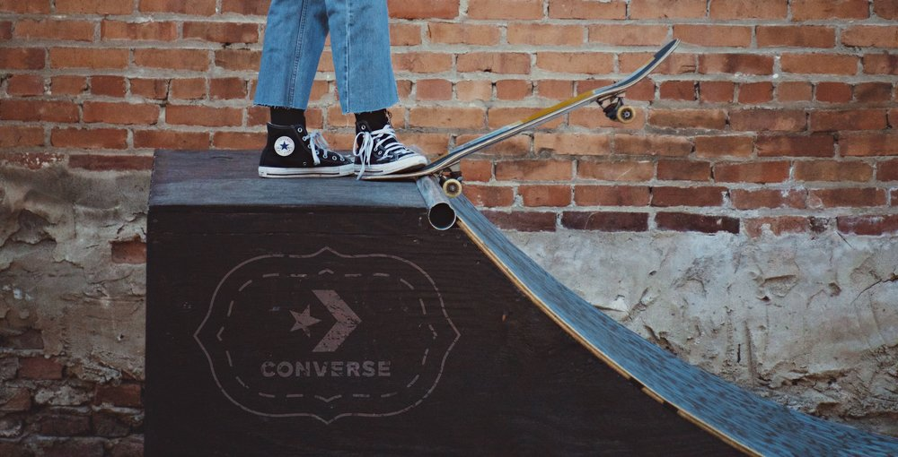 SkateRampConverse