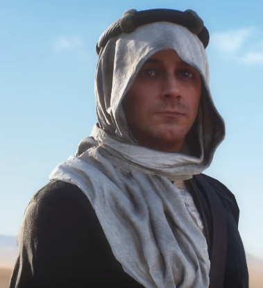Lawrence of Arabia i Battlefield 1