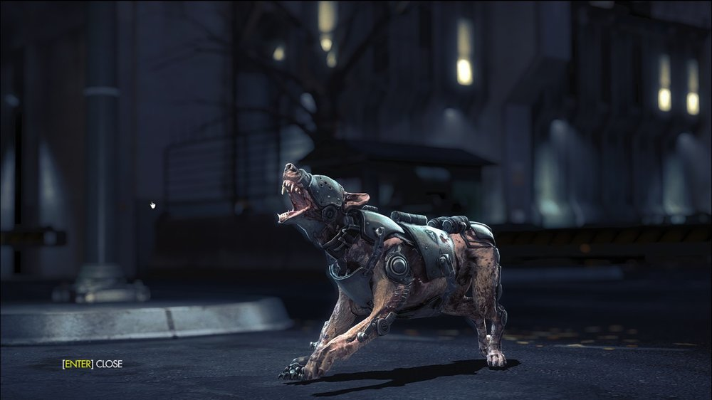 "En ""kampfhund"" fra Wolfenstein 2: The New Order"