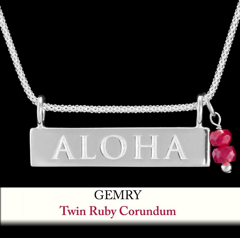 Twin Ruby Corundum Gem Enhancer