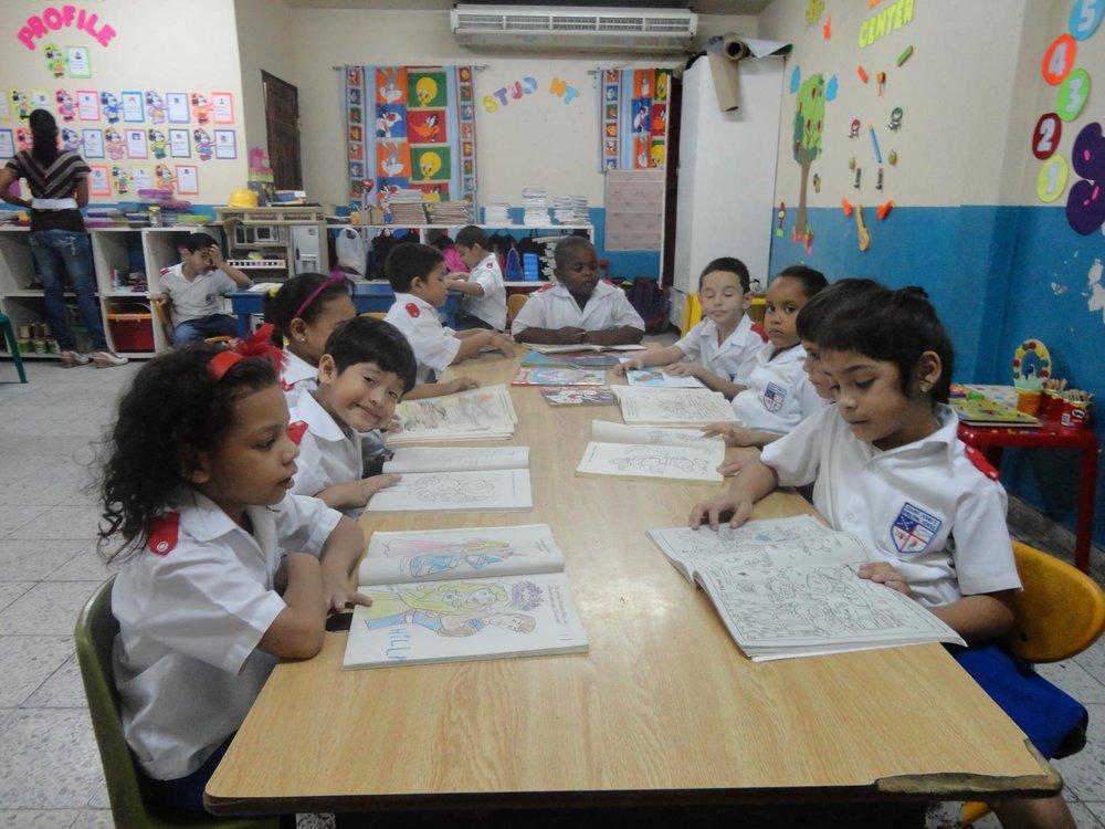 St John's Puerto Cortes students.jpg