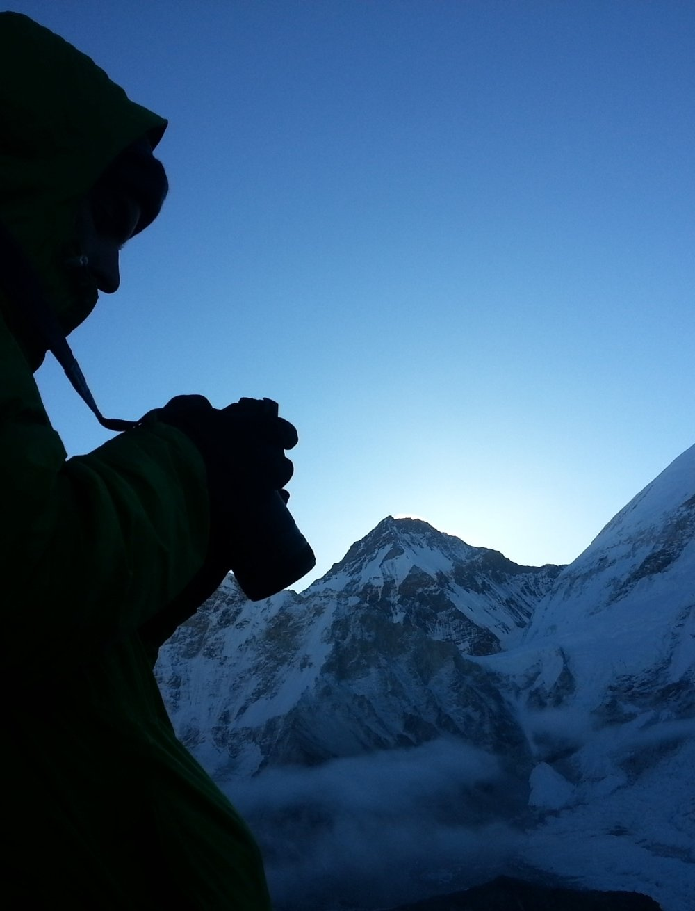 Everest and me