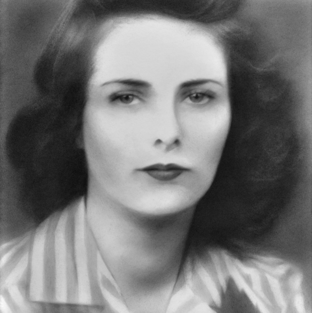 """Charma"", Graphite on paper, 11 x 11 inches, 2011."