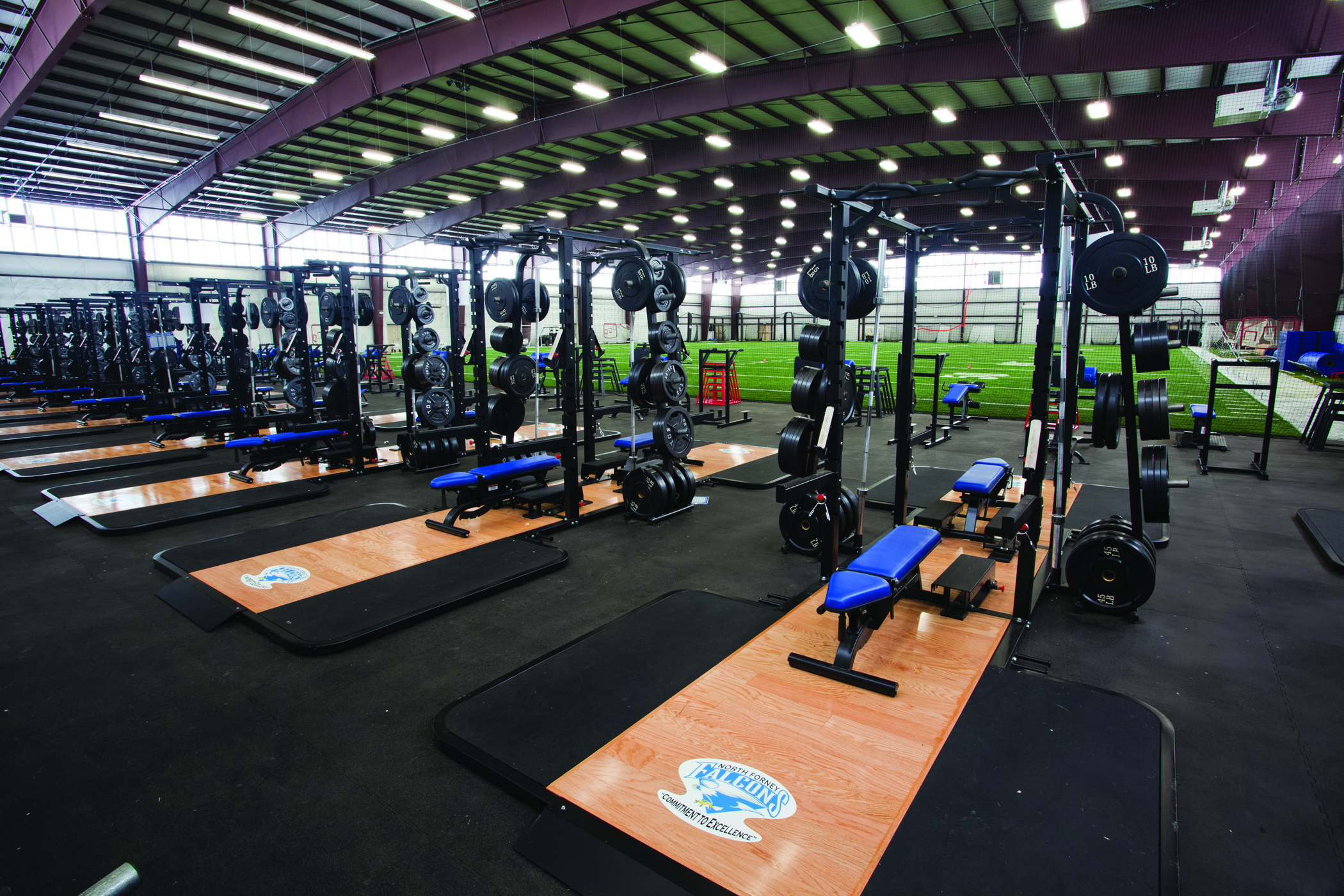 North Forney Hs Athletic Complex Wra Architects