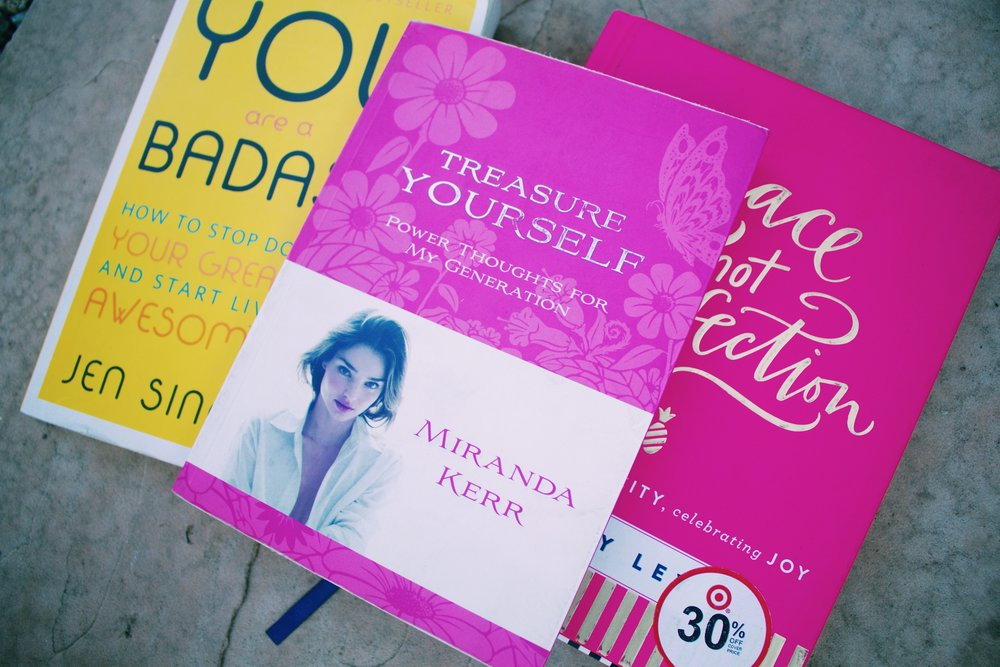 If you need a little - push... these are my most inspiring reads