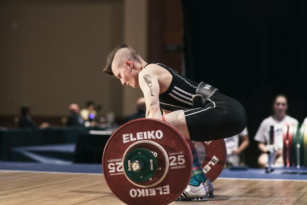 Laura Mohler - Competitive Weight Lifter