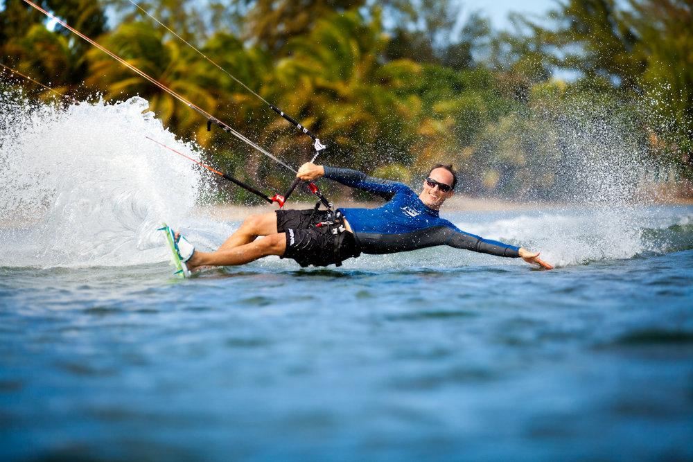 Yancy Wright - International Kite Surfer