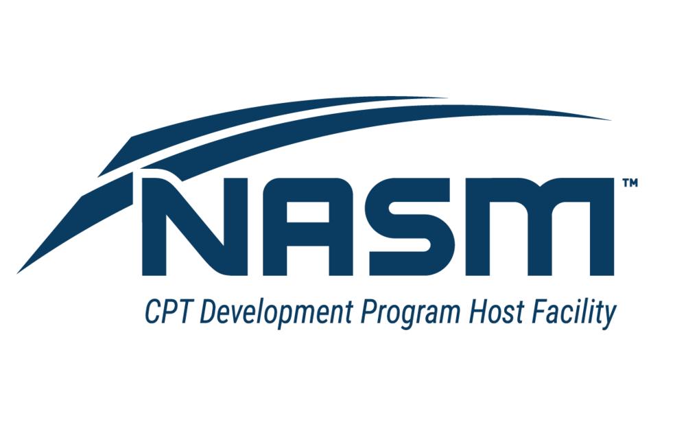We are a NASM CPT development program host facility.