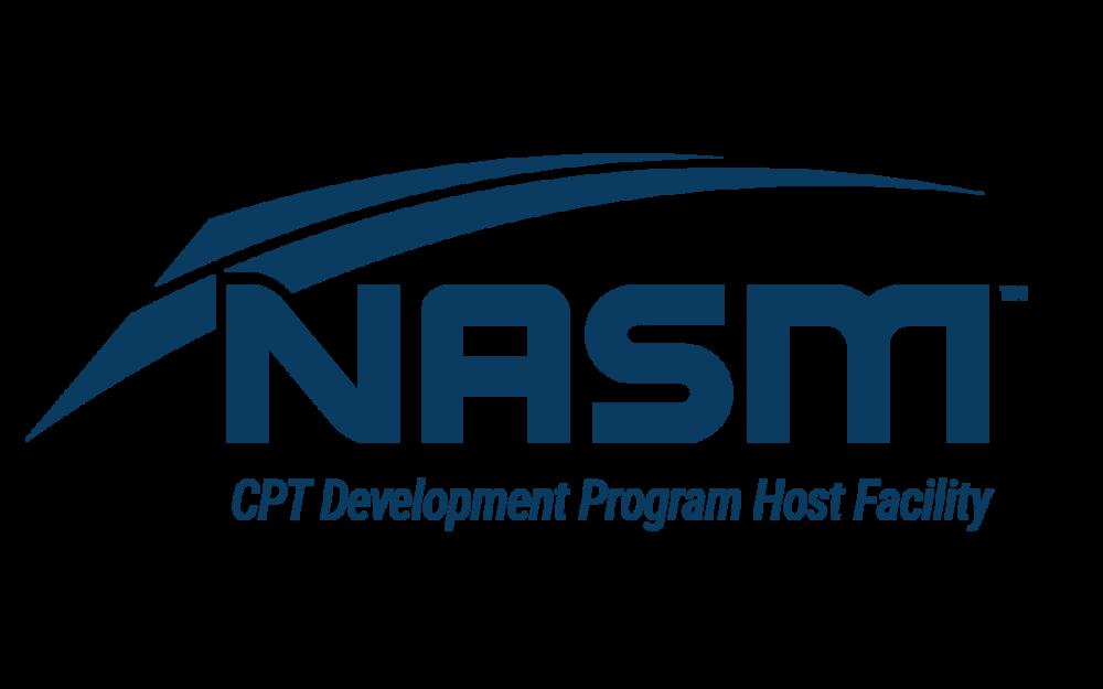 We are a NASM CPT development program host facility.