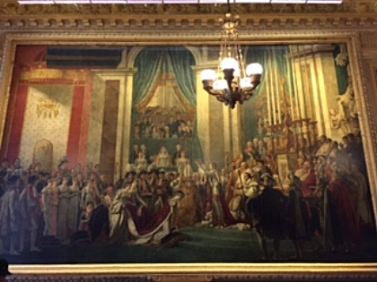 My favorite painting - The Coronation of Napoleon  The Palace of Versailles, Paris, France