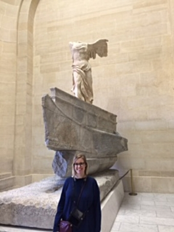 My favorite statue - Winged Victory  The Lourve, Paris, France