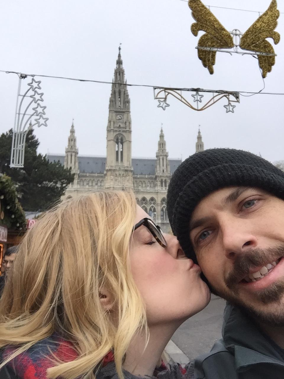 My love and I, Vienna, Austria