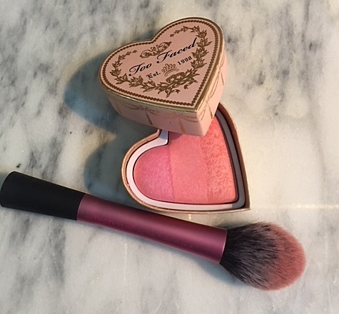 Too Faced blush in Candy Glow