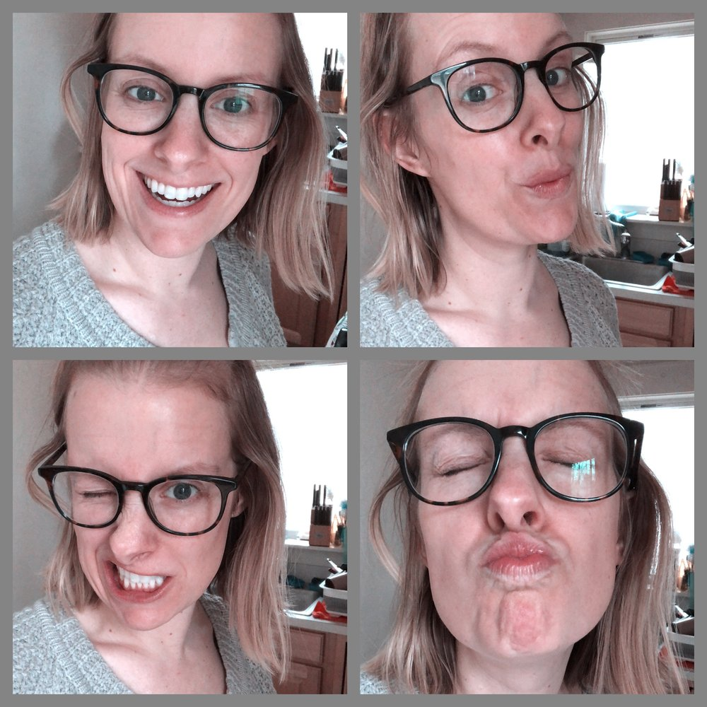 Silly photos with my new Sprocket photo booth option.