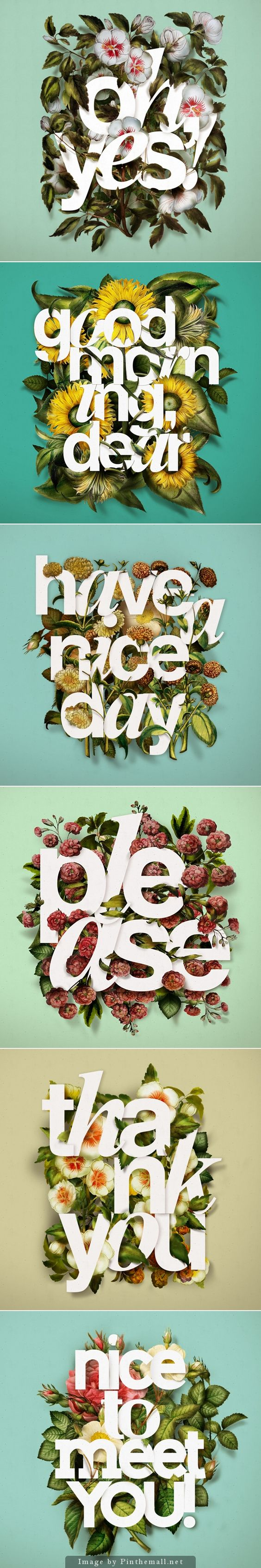 3D Typography   Saved From: Pinterest