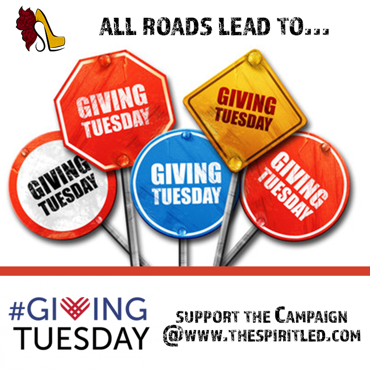 Giving Tuesday - SpiritLed Inc. focuses on personal and spiritual growth with hopes of better living.We are passionate about improving the quality of life for people in need. We thank you in advance for supporting this campaign...