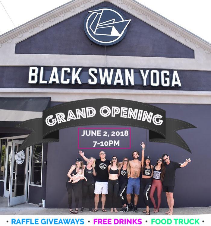 Black Swan Yoga Dallas Grand Opening Fitness Ambassadors