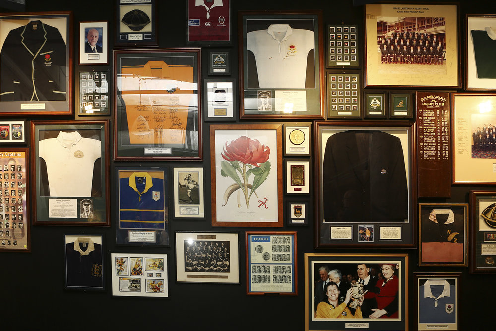 The Rugby Club commeorative wall at Rugby Australia HQ Moore Park 377A5351 © Karen Watson.jpg