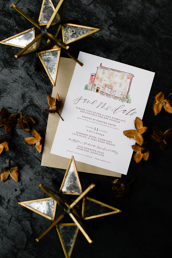 LITTLE BIT HEART - Elizabeth & Jenna // INVITATIONS & SAVE THE DATES