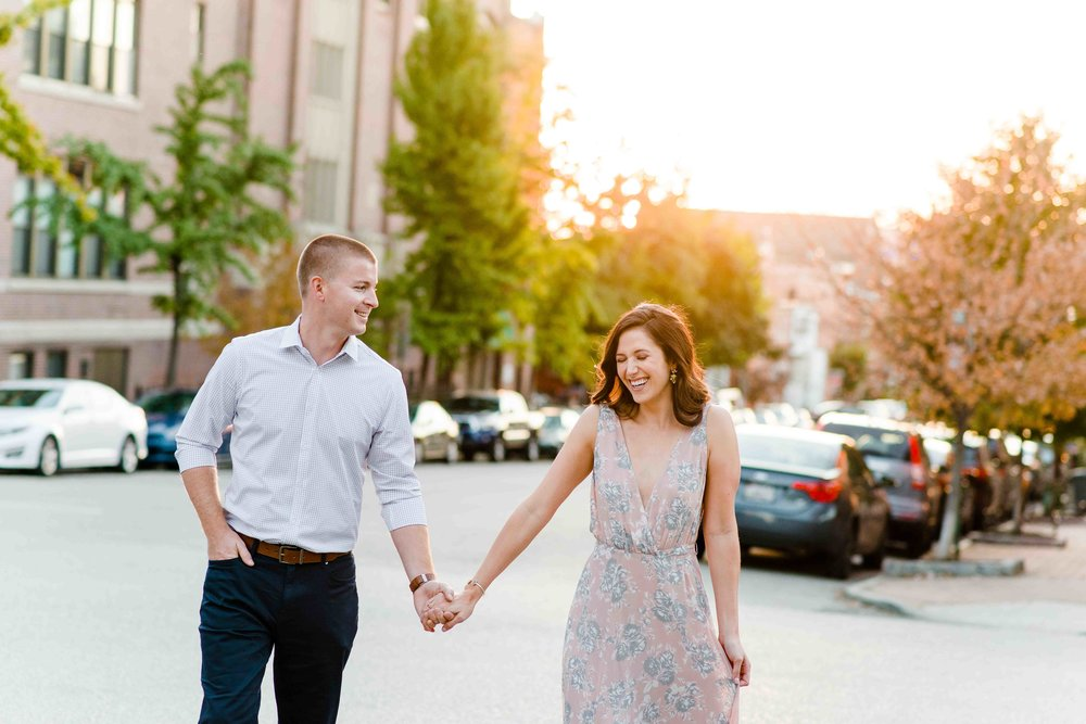 Chrissie & Justin | Federal Hill : Baltimore, Maryland