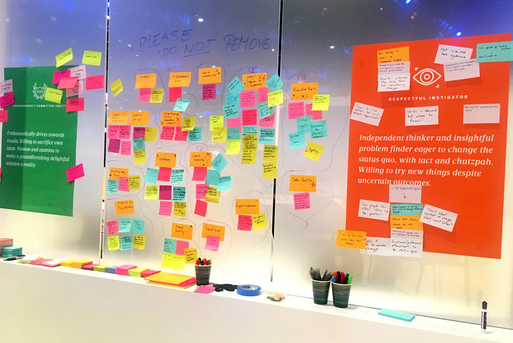 Design Thinking interactive session