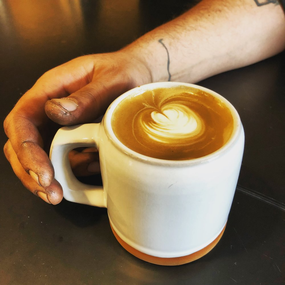 *our baristas have clean hands, we promise.