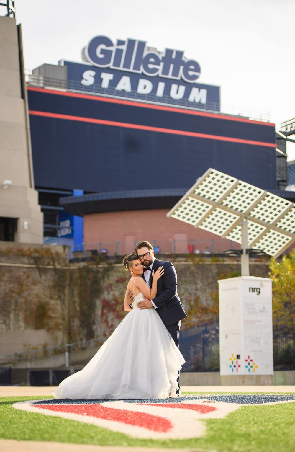 Patriots Place Wedding Gillette Stadium